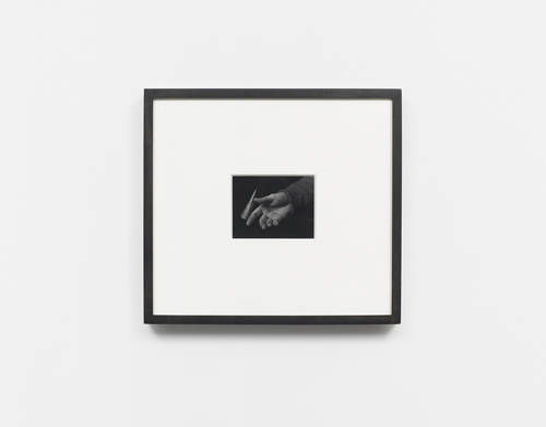 in Pictures for 'The Curve' at Wallspace. Image for Jan Groover, 'Untitled,' 1982, vintage gelatin silver print, 5 x 6 inches. Courtesy of Wallspace
