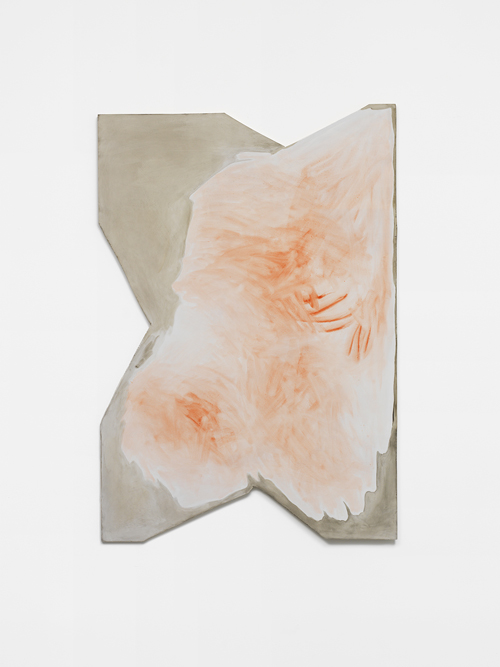 in Pictures for 'The Curve' at Wallspace. Image for Monique Mouton, 'Rose,' 2014, Oil on panel, 47.5 x 32.75 inches. Courtesy of Wallspace