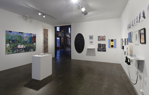 in Pictures for 'RESPOND' at Smack Mellon. Image for Installation view of 'RESPOND' at Smack Mellon, 2015. Courtesy of Smack Mellon, Brooklyn, NY. Photo by Etienne Frossard