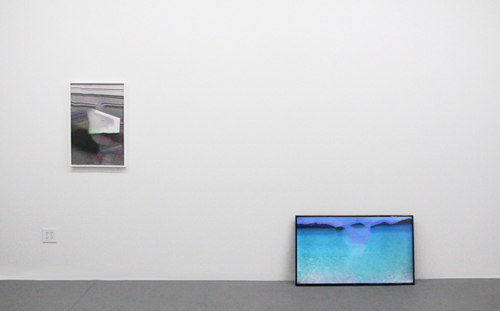 "in Pictures for Zach Nader at Microscope Gallery. Image for Installation view of Zach Nader: ""channel surf"" at Microscope Gallery, January 9 - February 16, 2015. Courtesy of the artist and Microscope"
