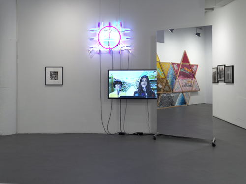 in Pictures for 'Looking Back: The Ninth White Columns Annual' at White Columns. Image for Installation view of 'Looking Back: The Ninth White Columns Annual,' at White Columns, 2015. Courtesy of White Columns