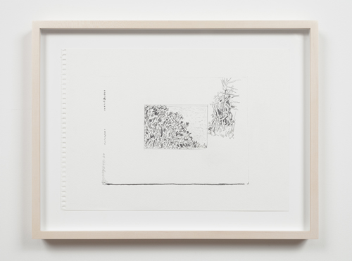 in Pictures for Nolan Simon at 47 Canal. Image for Nolan Simon, 'Ponza and Roma,' 2014, graphite on sketchbook paper, 11 x 15.5 inches (27.94 x 39.37 cm). Image courtesy of 47 Canal, New York. Photo by Joerg Lohse