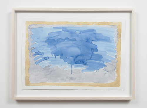 in Pictures for Nolan Simon at 47 Canal. Image for Nolan Simon, 'Ponza and Roma,' 2014, watercolor on paper, 13.5 x 19.25 inches (34.29 x 48.90 cm). Image courtesy of 47 Canal, New York. Photo by Joerg Lohse