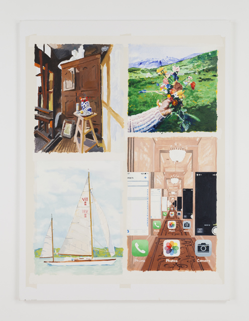 in Pictures for Nolan Simon at 47 Canal. Image for Nolan Simon, 'Now & Later,' 2014, Oil and Acrylic on Canvas, 48 x 36 inches (121.92 x 91.44 cm). Image courtesy of 47 Canal, New York. Photo by Joerg Lohse