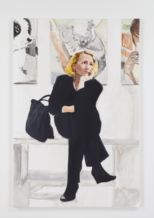 in Pictures for Nolan Simon at 47 Canal. Image for Nolan Simon, 'Women's Day,' 2014, oil on canvas, 42 x 28 inches (106.68 x 71.12 cm). Image courtesy of 47 Canal, New York. Photo by Joerg Lohse