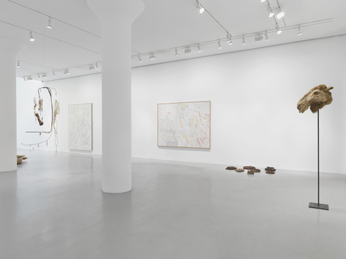 Month In Pictures Nancy Graves at Mitchell-Innes & Nash. Image for Installation view: Nancy Graves, Mitchell-Innes & Nash, NY 2015. Courtesy of the artist and Mitchell-Innes & Nash, NY. © 2015 Nancy Graves Foundation, Inc / Licensed by VAGA, New York, NY. Images may not be reproduced in any form without permission from the foundation.