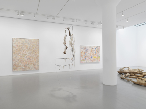 in Pictures for Nancy Graves at Mitchell-Innes & Nash. Image for Installation view: Nancy Graves, Mitchell-Innes & Nash, NY 2015. Courtesy of the artist and Mitchell-Innes & Nash, NY. © 2015 Nancy Graves Foundation, Inc / Licensed by VAGA, New York, NY. Images may not be reproduced in any form without permission from the foundation.