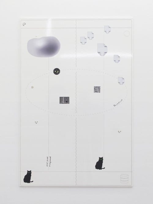 in Pictures for Harm van den Dorpel at American Medium. Image for Harm van den Dorpel, 'Aureool (Scrum Kanban),' 2015, UV print on whiteboard, custom magnets, marker, 60 x 40 inches, Unique. Courtesy of American Medium