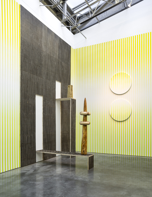 in Pictures for Claudia Comte at Gladstone Gallery. Image for Claudia Comte: 'NO MELON NO LEMON,' January 29 – March 21, 2015, Installation View: Gladstone Gallery, New York. Courtesy Gladstone Gallery, New York and Brussels. Photo: David Regen