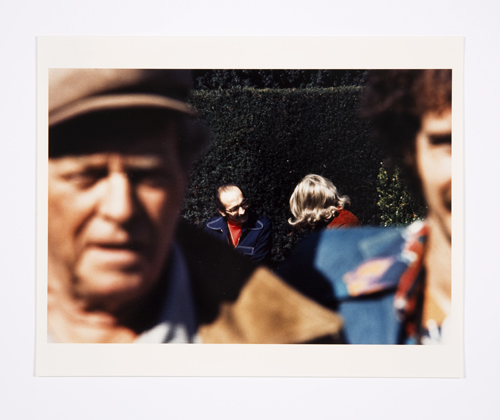 in Pictures for Lynn Hershman Leeson at Bridget Donahue. Image for Lynn Hershman Leeson, 'Roberta and Blaine in Union Square (close up),' 1975 Chromogenic print, 6.5 x 9.5 inches (16.51 x 24.13 cm), 12 x 15.5 inches (30.48 x 39.37 cm) (framed), Edition 2/3 + II AP. Courtesy Bridget Donahue, New York