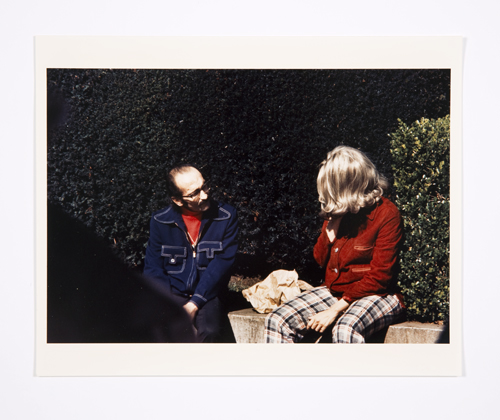 in Pictures for Lynn Hershman Leeson at Bridget Donahue. Image for Lynn Hershman Leeson, 'Roberta and Blaine in Union Square,' 1975, Chromogenic print, 6.5 x 9.5 inches (16.51 x 24.13 cm), 12 x 15.5 inches (30.48 x 39.37 cm) (framed), Edition 2/3 + II AP. Courtesy Bridget Donahue, New York