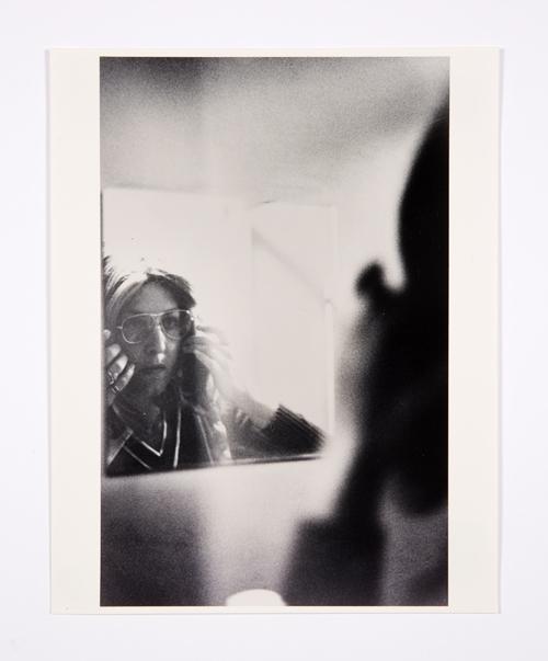in Pictures for Lynn Hershman Leeson at Bridget Donahue. Image for Lynn Hershman Leeson, 'Roberta at Mirror (Lynn Hershman),' 1974, Chromogenic print, 9.5 x 7 inches (24.13 x 17.78 cm), 15.5 x 11 inches (39.37 x 27.94 cm) (framed), Edition 2/3 + I AP. Courtesy Bridget Donahue, New York