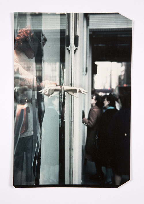 in Pictures for Lynn Hershman Leeson at Bridget Donahue. Image for Lynn Hershman Leeson, 'Detail of Window II, wide shot (25 Windows),' 1976, Chromogenic Print, 13.25 x 8.5 inches (33.66 x 21.59 cm), 16 x 11.5 inches (40.64 x 29.21 cm) (framed), Unique. Courtesy Bridget Donahue, New York