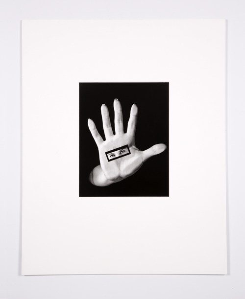 in Pictures for Lynn Hershman Leeson at Bridget Donahue. Image for Lynn Hershman Leeson, 'Hand to Eye,' 1987, Gelatin silver print, 20.5 x 16.5 inches (52.07 x 41.91 cm) (framed), Edition 3/8 + II AP. Courtesy Bridget Donahue, New York