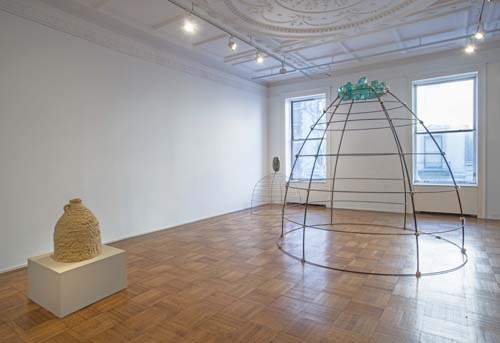 in Pictures for Simone Leigh at Tilton Gallery. Image for Installation view of Simone Leigh: 'Moulting' at Tilton Gallery, 2015. Courtesy of the artist and Tilton Gallery, NY