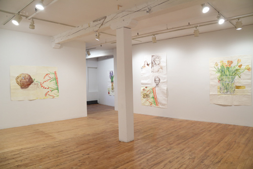 in Pictures for Dawn Clements at Pierogi. Image for Installation view of Dawn Clements: 'Mother's Day' at Pierogi, 2015. Courtesy of Pierogi