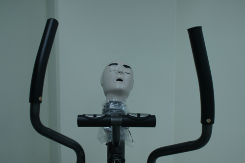 in Pictures for '2015 Triennial: Surround Audience' at New Museum. Image for Geumhyung Jeong, Fitness Guide, 2011 (detail). Customized fitness machine, dimensions variable. Courtesy the artist. Photo: © Geumhyung Jeong