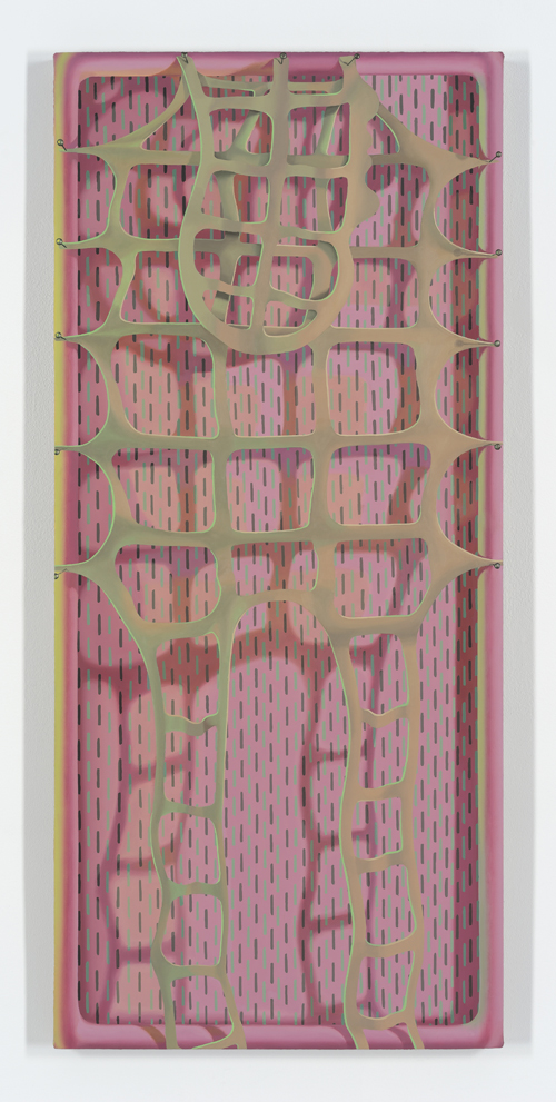 in Pictures for Sascha Braunig at Foxy Production. Image for Sascha Braunig, 'HIDE,' 2015, Oil on linen over panel, 42 3/4 in x 19 in. (108.59 × 48.26 cm). Courtesy the artist and Foxy Production, New York