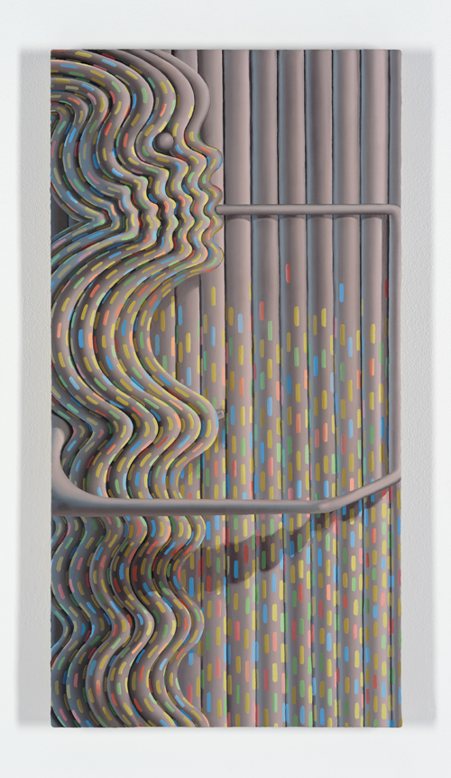 in Pictures for Sascha Braunig at Foxy Production. Image for Sascha Braunig, 'FEEDER,' 2014, Oil on linen over panel, 31 × 16 in. (78.74 × 40.64 cm). Courtesy the artist and Foxy Production, New York