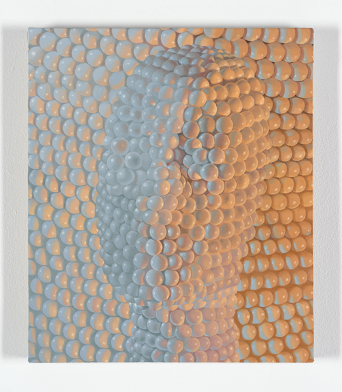 in Pictures for Sascha Braunig at Foxy Production. Image for Sascha Braunig, 'SACCADES,' 2014, Oil on linen over panel, 17 1/2 × 15 in. (44.45 × 38.10 cm). Courtesy the artist and Foxy Production, New York