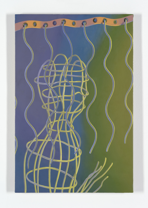 in Pictures for Sascha Braunig at Foxy Production. Image for Sascha Braunig, 'VALANCE, 2014/2015, Oil on linen over panel, 30 × 20 in. (76.20 × 50.80 cm). Courtesy the artist and Foxy Production, New York