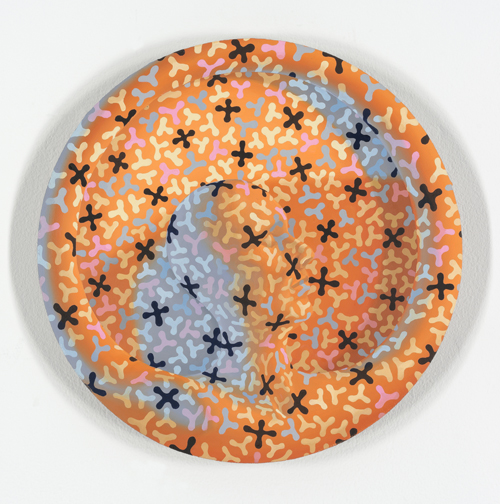 in Pictures for Sascha Braunig at Foxy Production. Image for Sascha Braunig, 'REEF,' 2015, Oil on linen over panel, 12 in. diameter (30.48 cm. diameter). Courtesy the artist and Foxy Production, New York