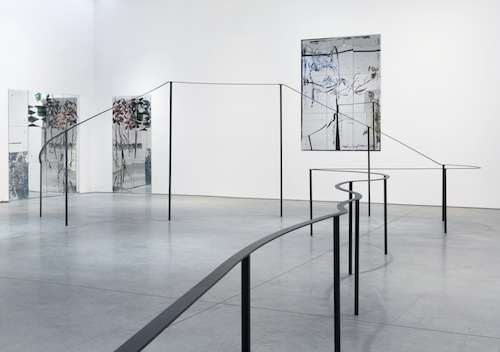 in Pictures for Nick Mauss at 303 Gallery. Image for Nick Mauss, 'cafuné,' 2015, Steel, enamel, 6 ft 10 inches x 25 ft 8 inches x 46 ft (208.3 x 782.3 x 1402.1 cm). © Nick Mauss, courtesy 303 Gallery, New York