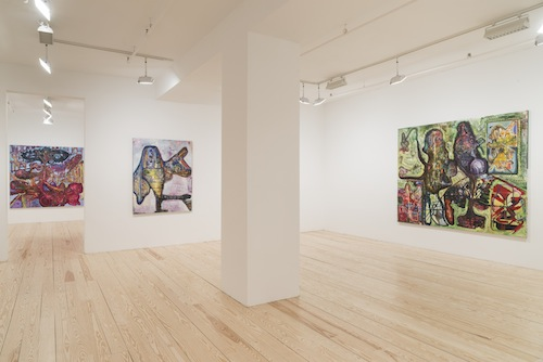 Month In Pictures Steve DiBenedetto at Derek Eller Gallery. Image for Installation view of Steve DiBenedetto: 'Mile High Psychiatry' at Derek Eller Gallery, 2015. Courtesy Derek Eller Gallery