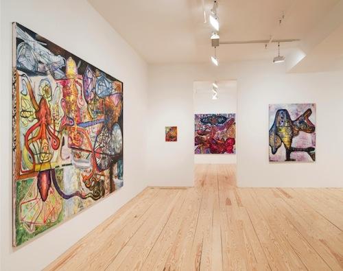 in Pictures for Steve DiBenedetto at Derek Eller Gallery. Image for Installation view of Steve DiBenedetto: 'Mile High Psychiatry' at Derek Eller Gallery, 2015. Courtesy Derek Eller Gallery
