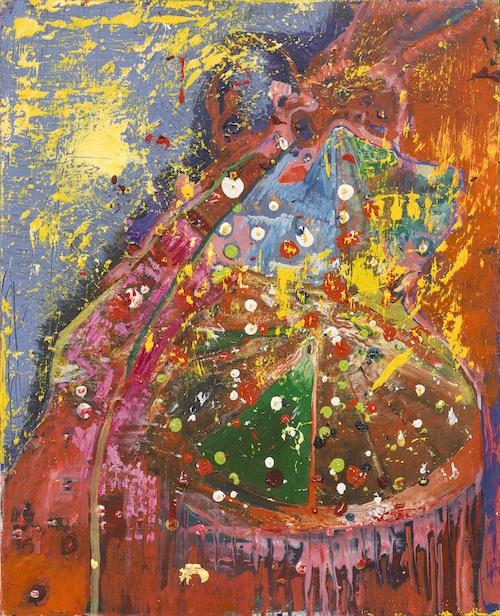 in Pictures for Steve DiBenedetto at Derek Eller Gallery. Image for Steve DiBenedetto, 'Biodynamic Radiation,' 2015, oil on linen, 16 x 13 x .75 inches. Courtesy Derek Eller Gallery