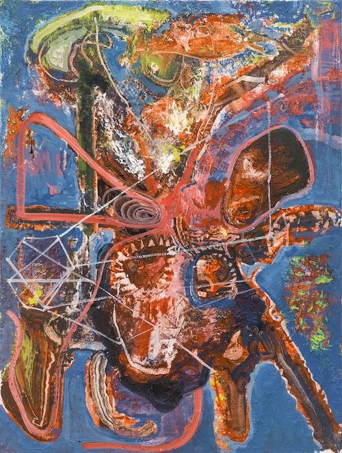 in Pictures for Steve DiBenedetto at Derek Eller Gallery. Image for Steve DiBenedetto, 'Offers of Refusal,' 2014-15, oil on linen, 24 x 18 x .75 inches. Courtesy Derek Eller Gallery