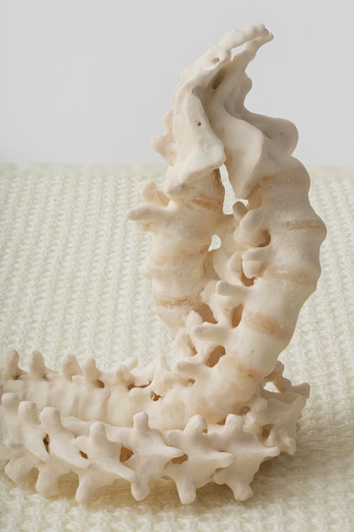 in Pictures for Janine Antoni at Luhring Augustine. Image for Janine Antoni, to twine, 2014 (detail), Polyurethane resin, Edition of  3 + 1 AP, 18 x 48 1/2 x 72 inches (45.7 x 123.2 x 182.9 cm). © Janine Antoni; Courtesy of the artist and Luhring Augustine, New York.