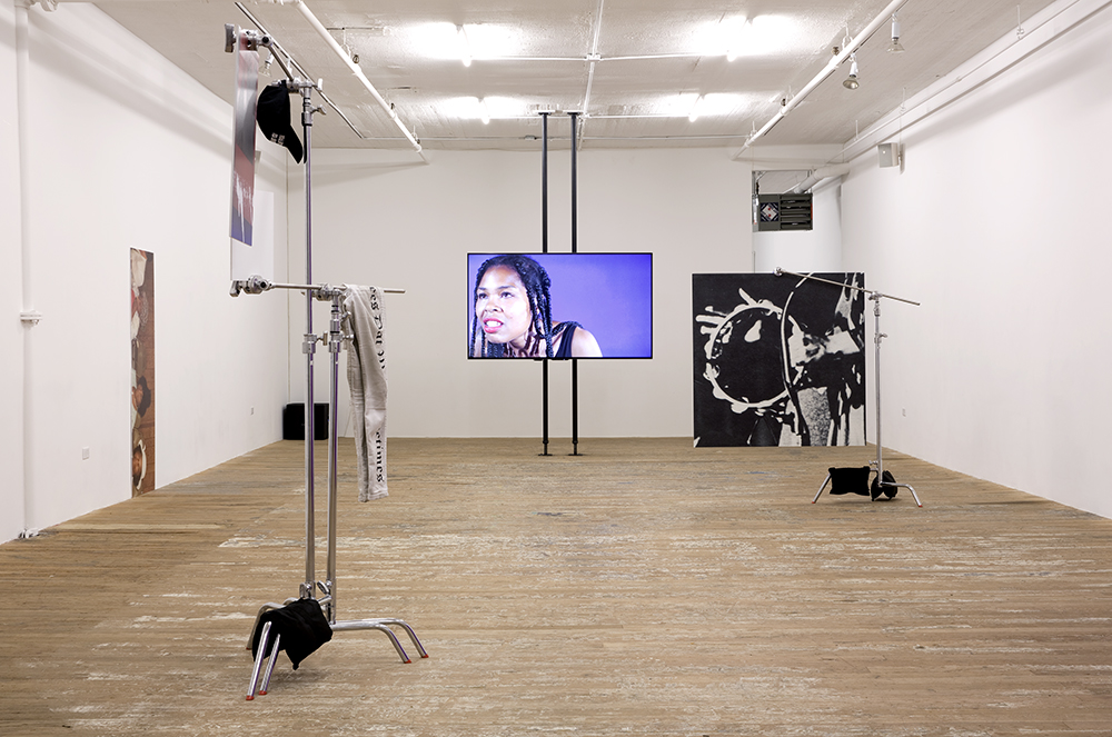 Month In Pictures Martine Syms at Bridget Donahue. Image for Installation view of Martine Syms: 'Vertical Elevated Oblique,' at Bridget Donahue, New York, New York, September 17, 2015 - November 01, 2015. Courtesy of Bridget Donahue, New York