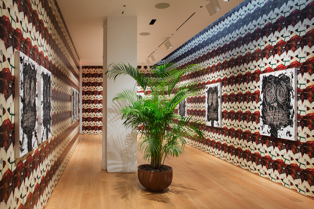 Month In Pictures Rashid Johnson at The Drawing Center. Image for Installation view of Rashid Johnson: 'Anxious Men' at The Drawing Center, 2015. Courtesy of The Drawing Center. Photo by Jose Andres Ramirez.