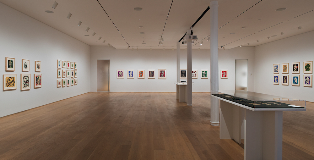 Month In Pictures Richard Pousette-Dart at The Drawing Center. Image for Installation view of 'Richard Pousette-Dart: 1930s' at The Drawing Center, 2015. Courtesy of The Drawing Center. Photo by Jose Andres Ramirez.