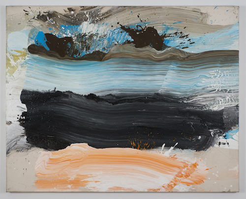 in Pictures for Ed Clark at Tilton Gallery. Image for Ed Clark, Untitled, 2001, Acrylic on canvas, 64 ½ x 81 ¼ inches. Image courtesy the artist and Tilton Gallery, NY.