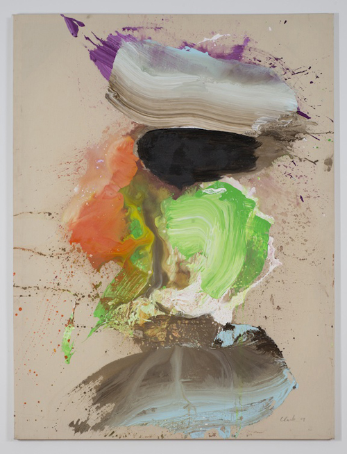 in Pictures for Ed Clark at Tilton Gallery. Image for Ed Clark, Paris, 2009, Acrylic on canvas, 73 ½ x 54 ½ inches. Image courtesy the artist and Tilton Gallery, NY.