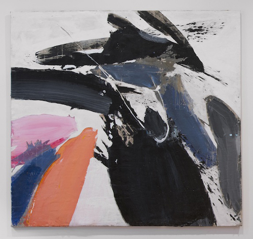 in Pictures for Ed Clark at Tilton Gallery. Image for Ed Clark, Winter Bitch, 1959, Acrylic on canvas, 77 x 77 inches. Image courtesy the artist and Tilton Gallery, NY.