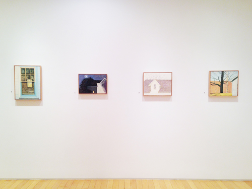 Month In Pictures Lois Dodd at Alexandre Gallery. Image for