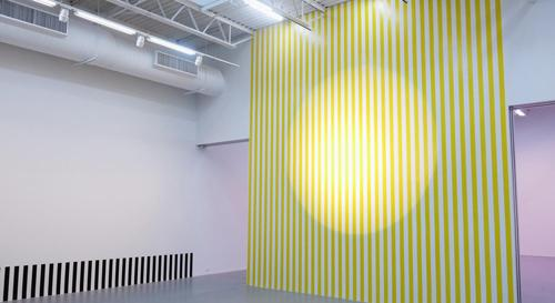 Daniel Buren ELECTRICITY PAPER VINYL... Works in Situ & Situated Works From 1968 to 2013 | Events Calendar