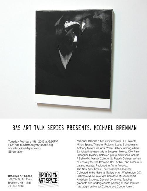 Michael Brennan Artist Talk  | Events Calendar