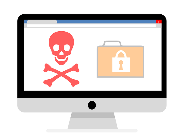 security threats image of skull and crossbones ransomware attack