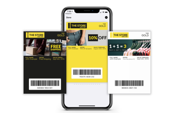 Mobile passes come in all shapes and styles, and they're extremely convenient for smartphone lovers - these are some screenshots from Antavo.