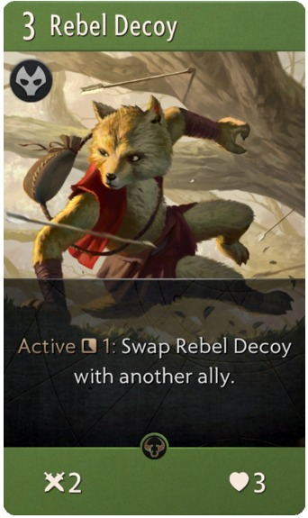 Rebel Decoy