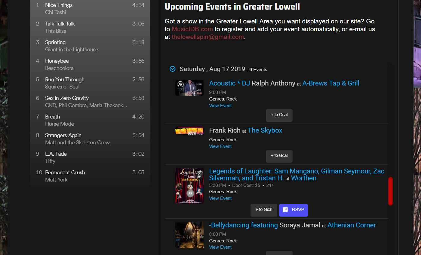 Filter the Events List and Embed on Your Website