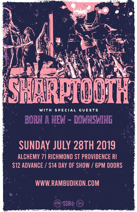 Sharptooth   Born A New   Downswing  