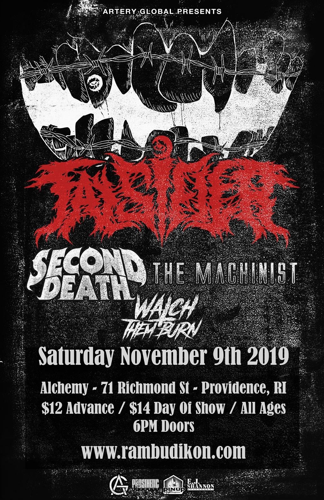 Falsifier | The Machinist  | Second Death | Watch Them Burn |
