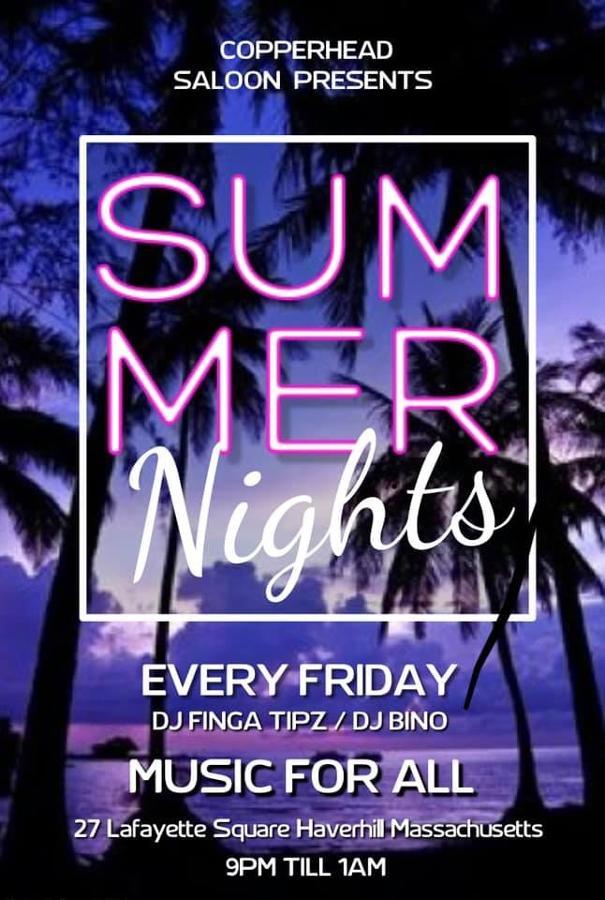 -Summer Nights  Music for All DJ Finga Tipz/DJ Bino