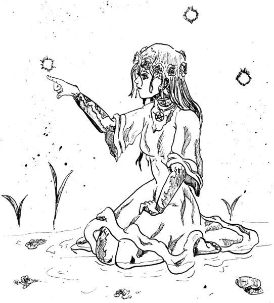 Traditional Ink-line Illustration