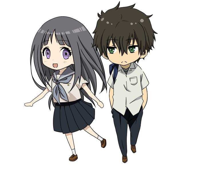 A couple kawaii anime chibi - Artists&Clients